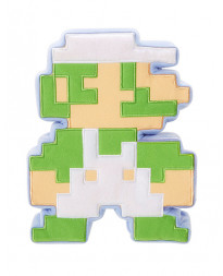 SUPER MARIO WORLD OF NINTENDO 8 BIT PLUSH LUIGI