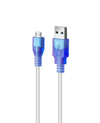 ROCK CANDY 6FT MICRO USB CABLE BLUE