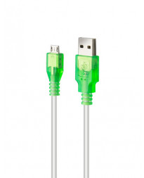 ROCK CANDY 6FT MICRO USB CABLE GREEN