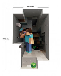MINECRAFT WALL CLING