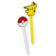 POKEMON PIKACHU AND POKEBALL STYLUS SET